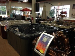 Hot tub and spa showroom in Hagerstown